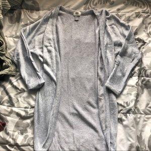 Old Navy Pastel Blue Oversized Knit Cardigan